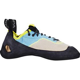 Scarpa Velocity L WMN Climbing Shoes Women light gray/truquoise